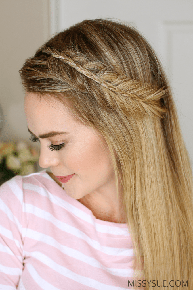 fishtail hair style stacked fishtail and mini braid sue 1662