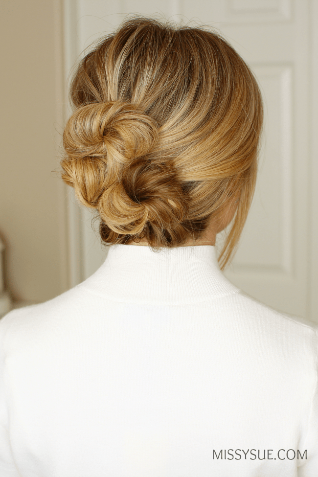 Twisted Buns Updo Missy Sue