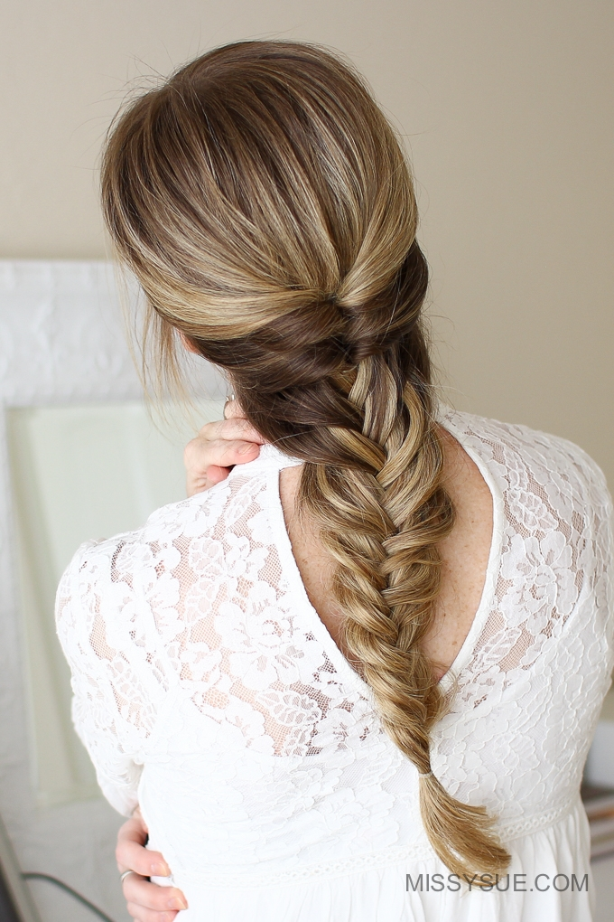 Topsy Tail Fishtail Braid Missy Sue