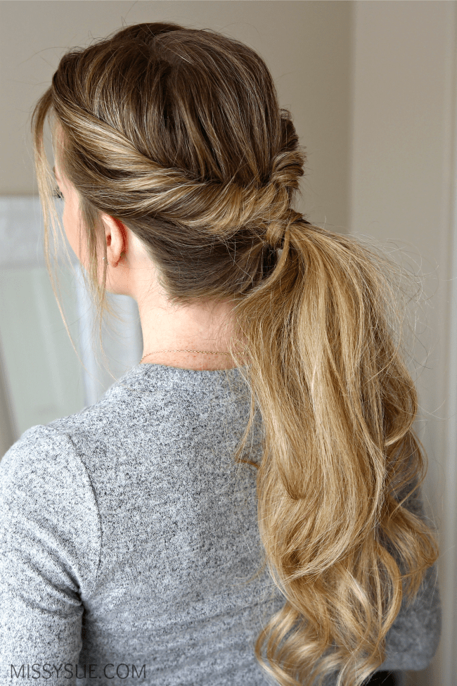 Superb Everyday Flip Twist Ponytail Missy Sue Natural Hairstyles Runnerswayorg