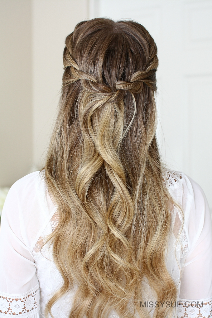 3 Easy Rope Braid Hairstyles Fsetyt Com