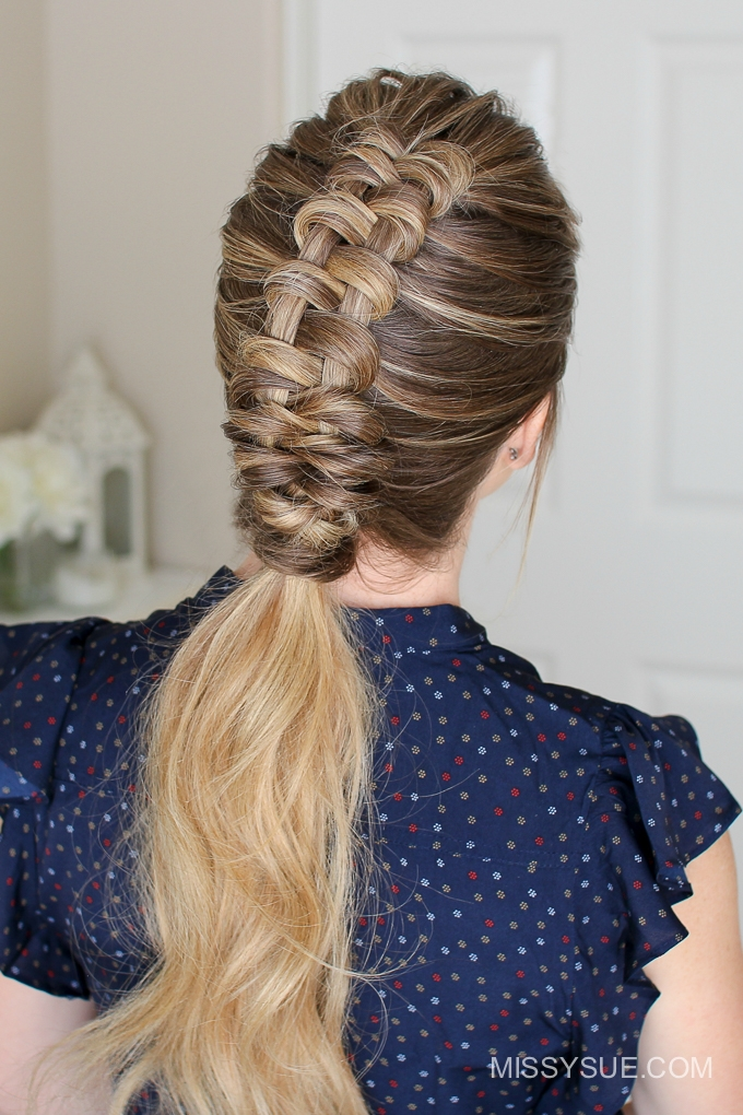 How to Dutch Infinity Braid