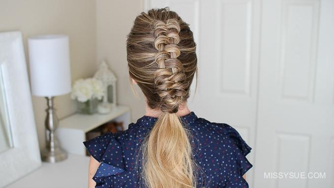 how to dutch infinity braid missy sue