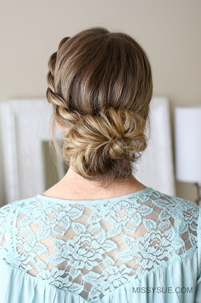 3 Easy Rope Braid Hairstyles Missy Sue