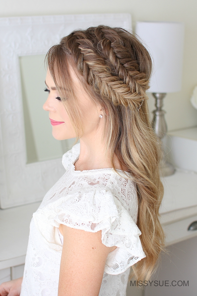 Double Dutch Fishtail Braids