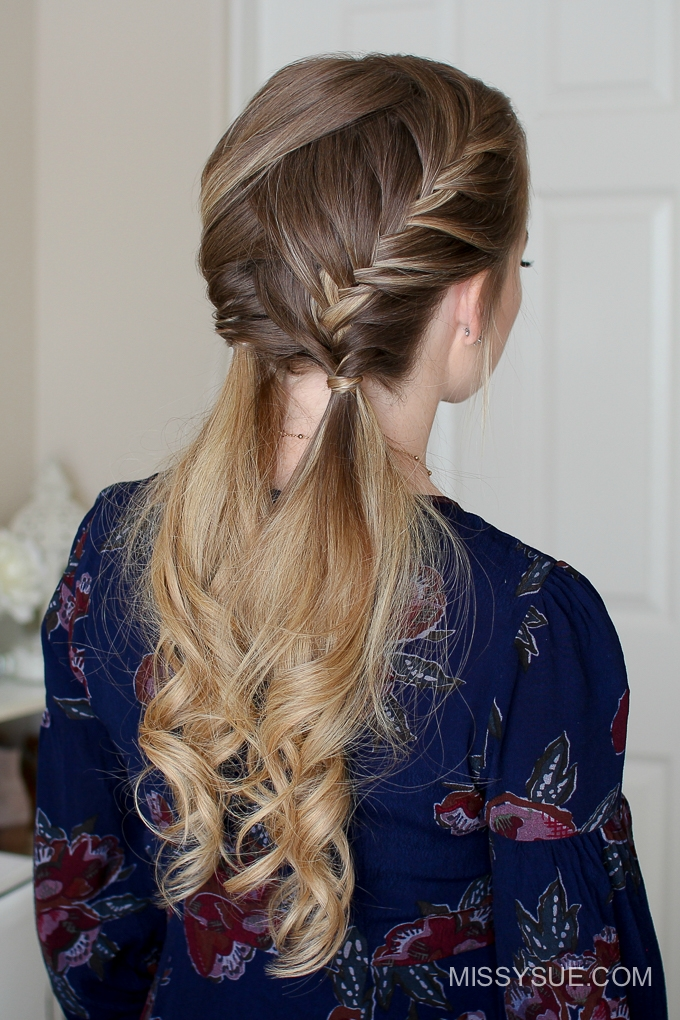 Double Fishtail French Braids