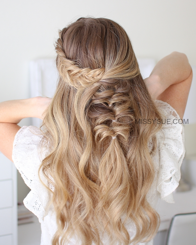 Dutch Fishtail Topsy Tail Braid