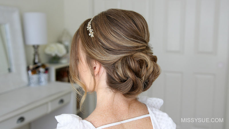 Simple Formal Updo Missy Sue