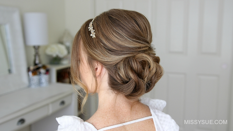 Simple formal updo hairstyle ft missy sue simple formal updo hairstyle ft pmusecretfo Choice Image