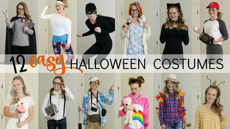 633f66e95d3a 12 Easy Last-Minute Halloween Costumes
