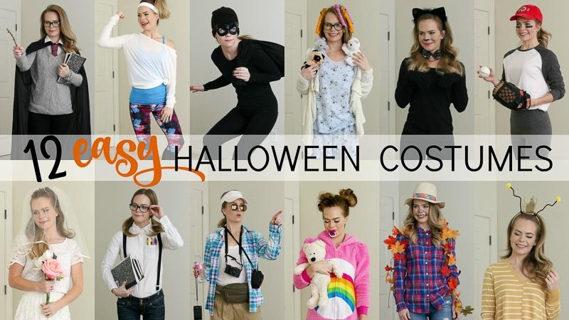 12 Easy Last Minute Halloween Costumes Missy Sue