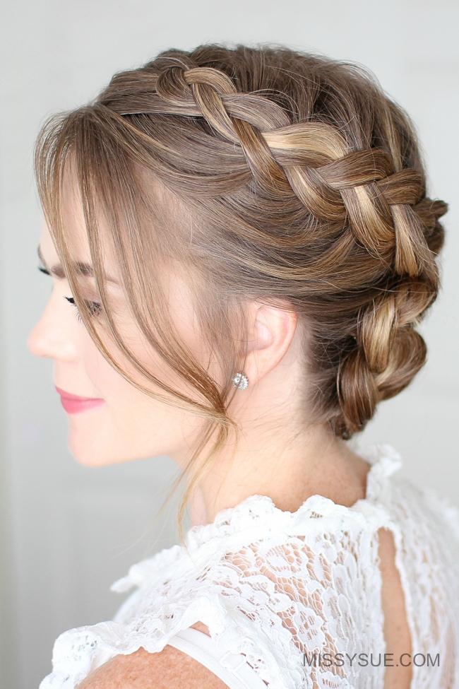 Dutch Braided Bun