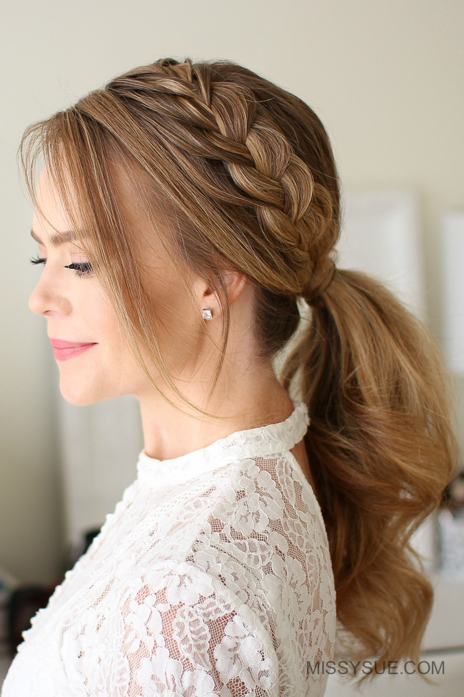 Lace Braid Ponytail Fsetyt Com