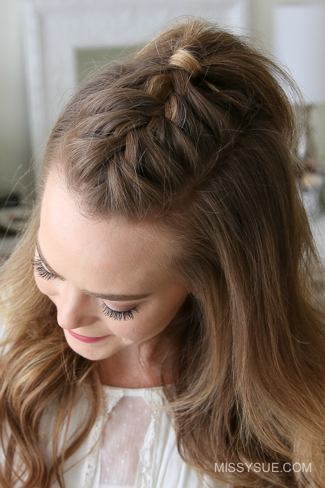 French Mohawk Braid