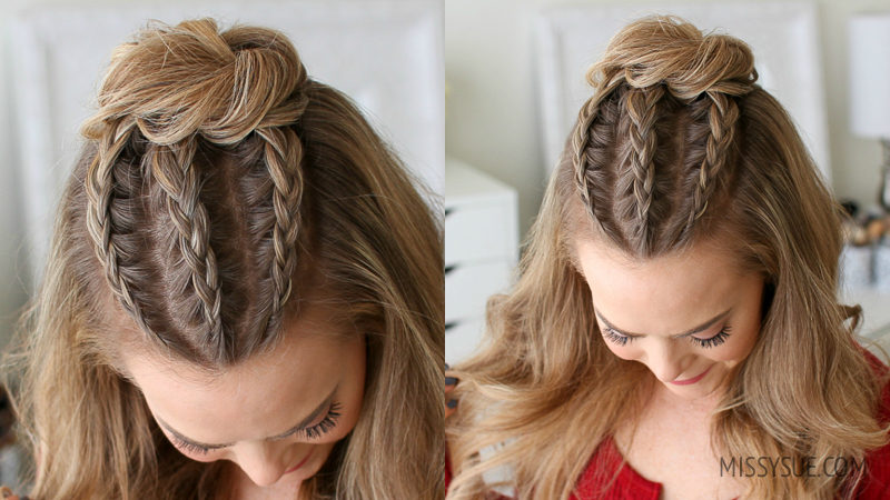 Hairstyles Braids Half Up: Beauty & Style