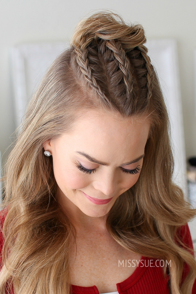 Spring Perfect Half Up Down Hairstyles