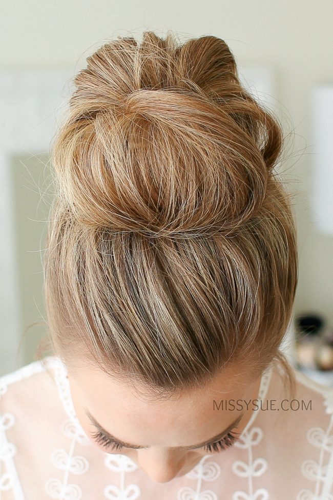 2 Easy Messy Buns