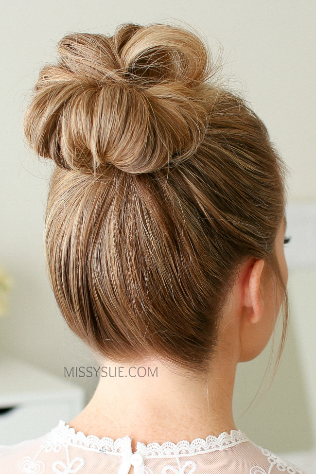 Missy sue beauty style messy bun 1 instructions solutioingenieria Image collections