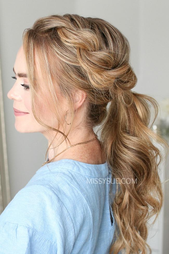 Twist Braid Ponytail