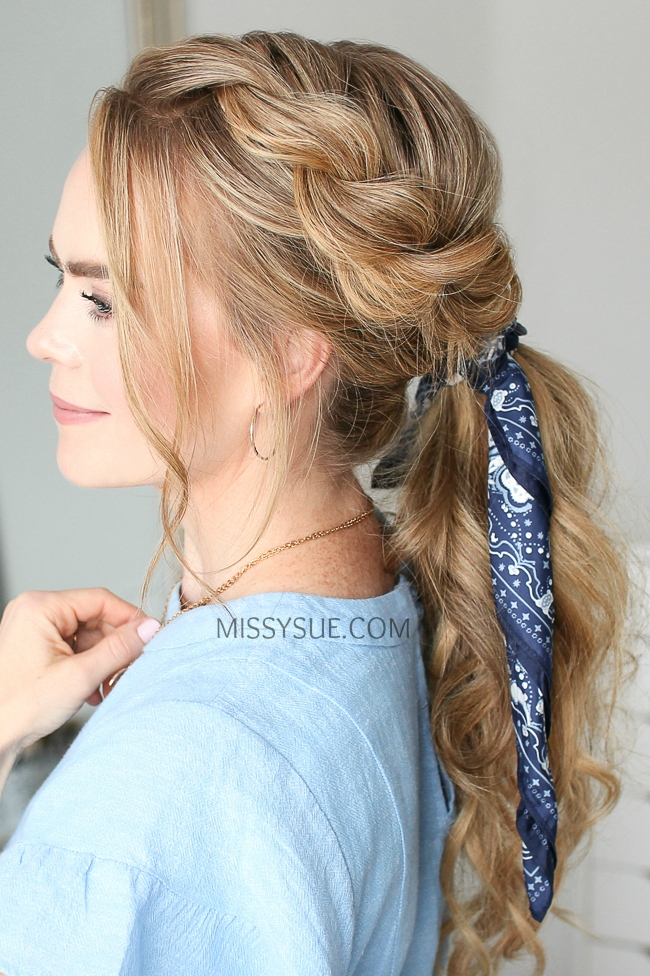 Twist Braid Ponytail