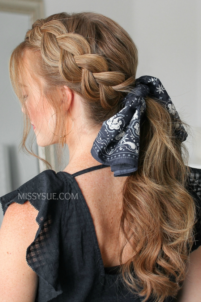 12 Hair Scarf Hairstyles, Back to School