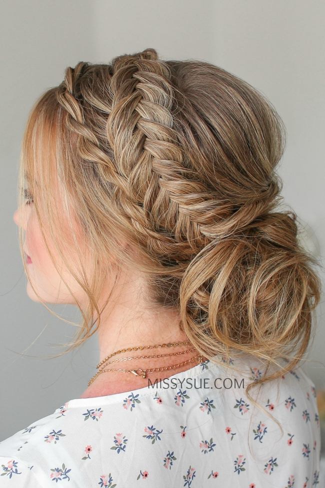 Twist Braid & Dutch Fishtail Updo