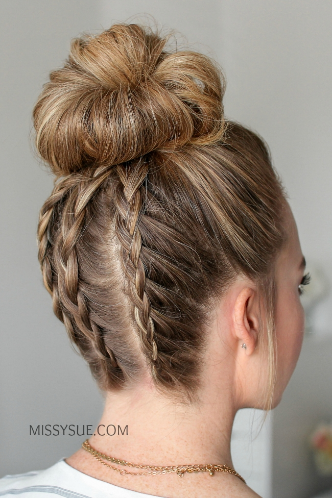 Missy sue beauty style whos ready to take their messy bun up a notch solutioingenieria Gallery