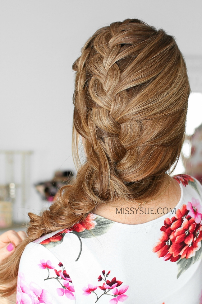 Double Side French Braids Instructions