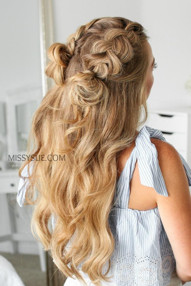 5 Half Up Dutch Braid Hairstyles Missy Sue