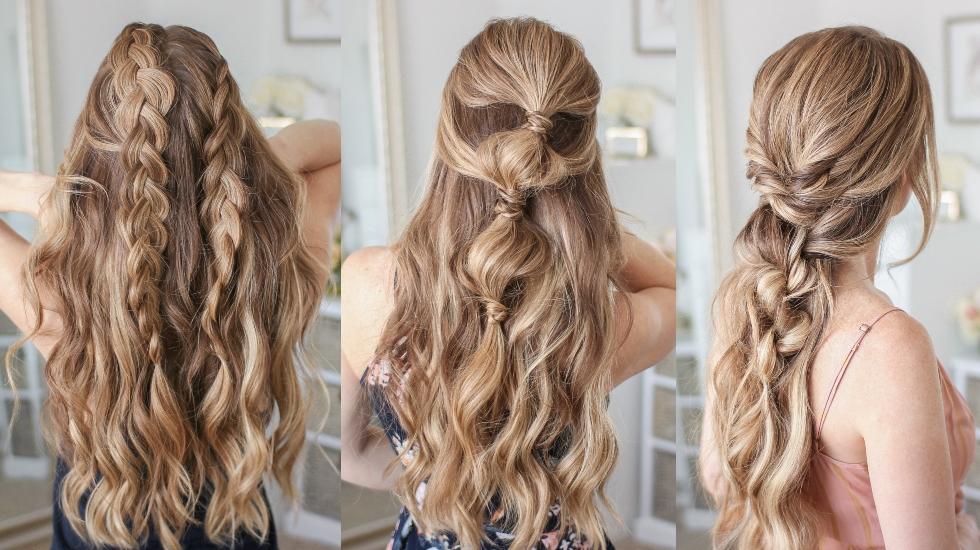 3 Half Up Summer Hairstyles